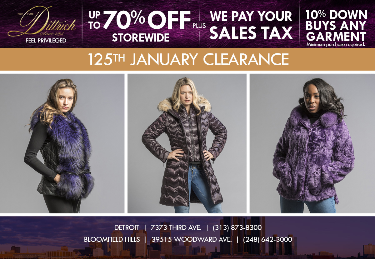 125th January Clearance